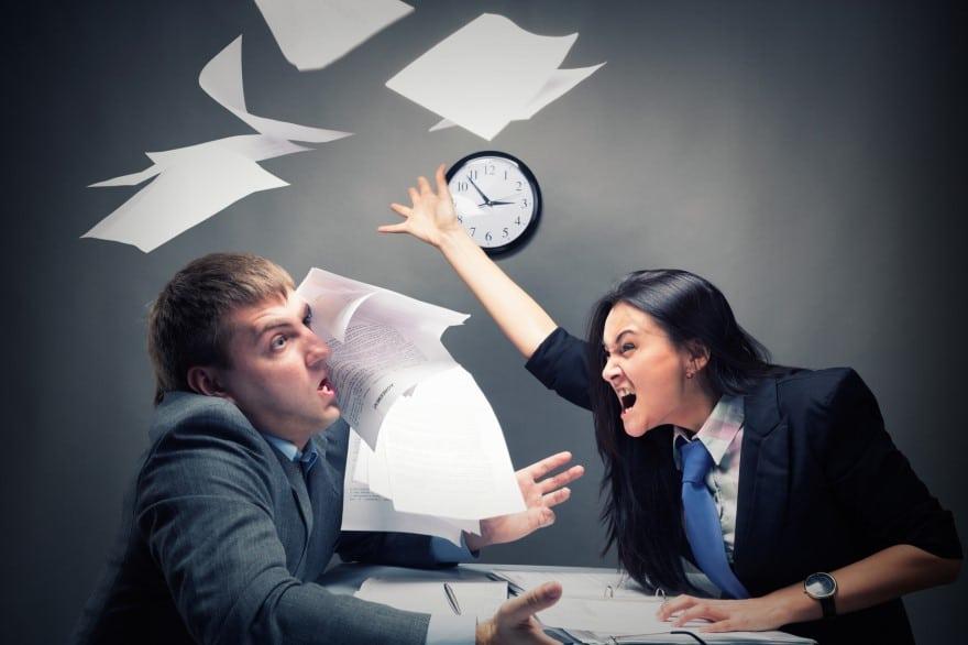 Gérer le comportement agressif d'un salarié