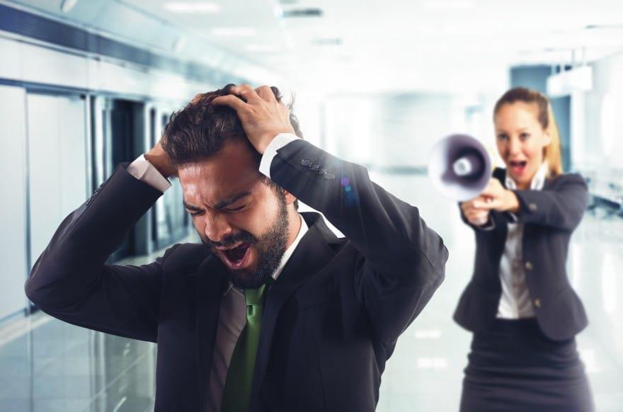 La pression au travail peut toucher n'importe qui