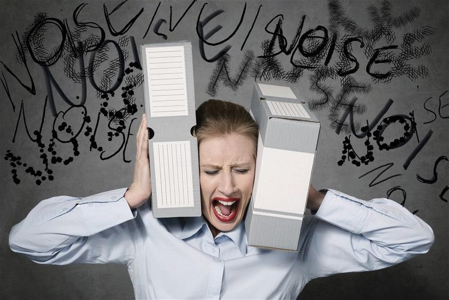Chiffre stress au travail